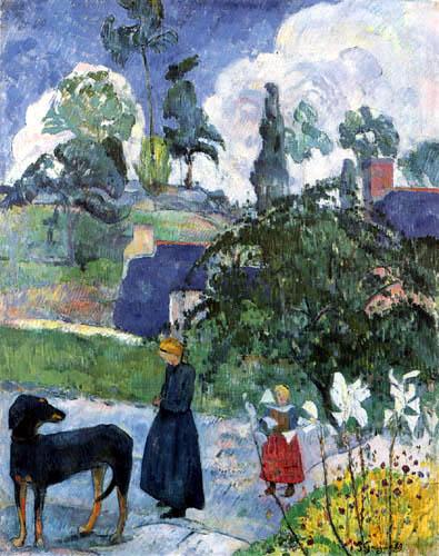 Paul Gauguin - Entre les lys