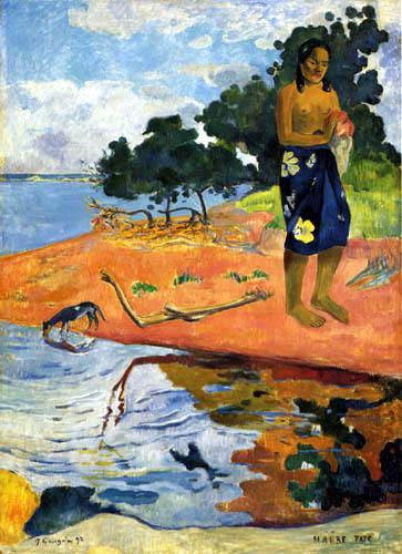 Paul Gauguin - Haere Pape