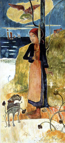 Paul Gauguin - Jeanne D`Arc