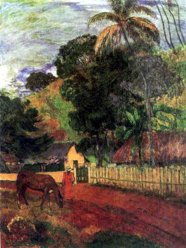 Paul Gauguin - Landschaft