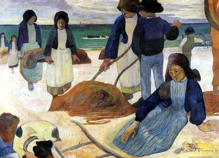 Paul Gauguin - Erneuerung der Netze