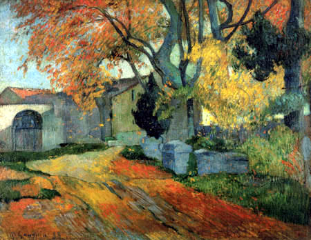 Paul Gauguin - Les Alyscamps