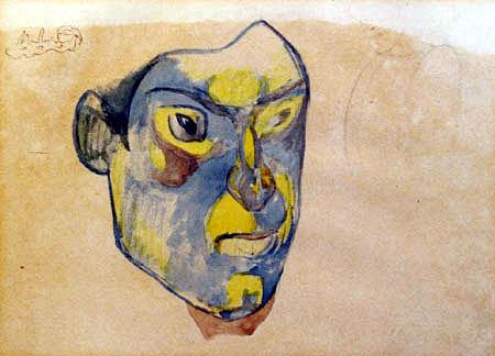 Paul Gauguin - Maske von Meyer de Haan
