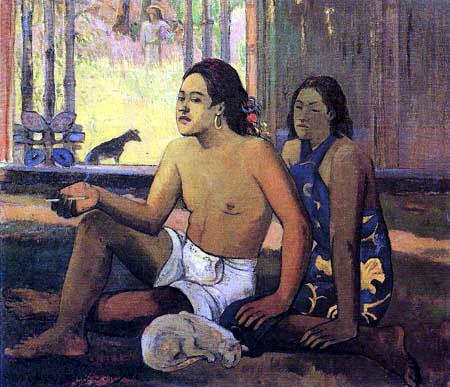 Paul Gauguin - Nicht arbeiten