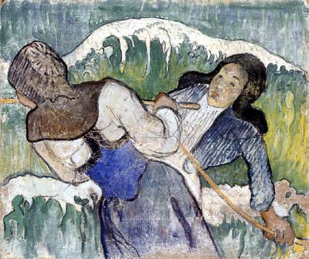 Paul Gauguin - Fischerinnen von Goemon