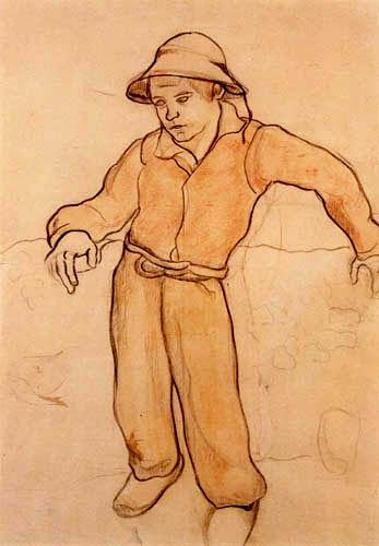 Paul Gauguin - Kleiner bretonischer Junge