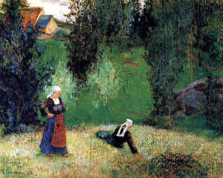 Paul Gauguin - Erste Blumen