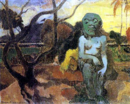 Paul Gauguin - Rave te hiti aamu - Das Idol