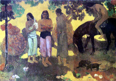 Paul Gauguin - Ruperupe - Obsternte