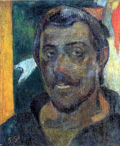 Paul Gauguin - Selbstbildnis