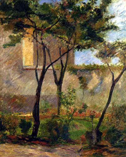 Paul Gauguin - Un coin du jardin_ rue carcel