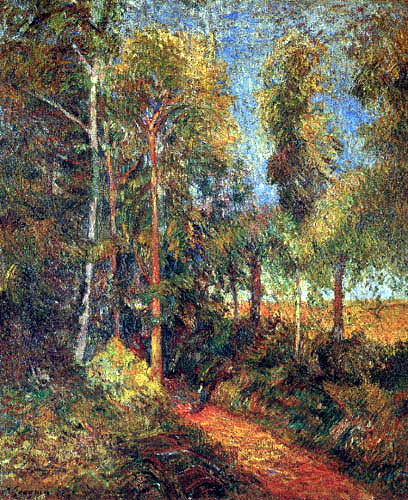 Paul Gauguin - Waldweg