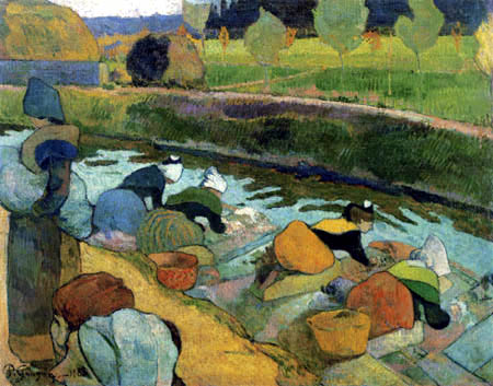 Paul Gauguin - Washerwomen at the Roi Canal