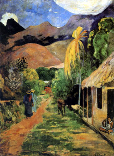 Paul Gauguin - Weg in Papeete