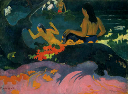Paul Gauguin - Fatata te Miti, Am Meer