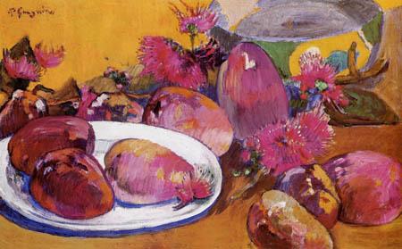 Paul Gauguin - Still life with fruits