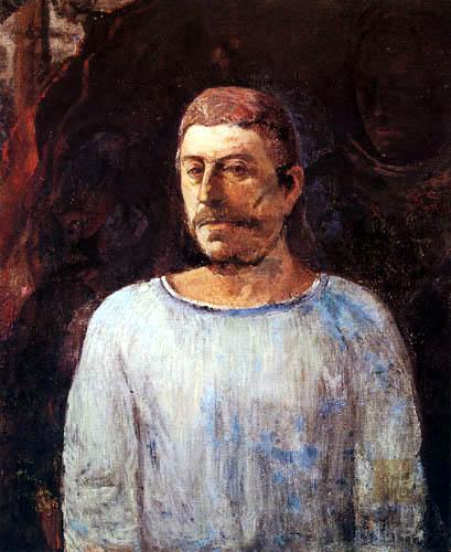 Paul Gauguin - Selbstbildnis - Golgota