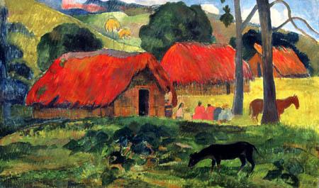 Paul Gauguin - A dog