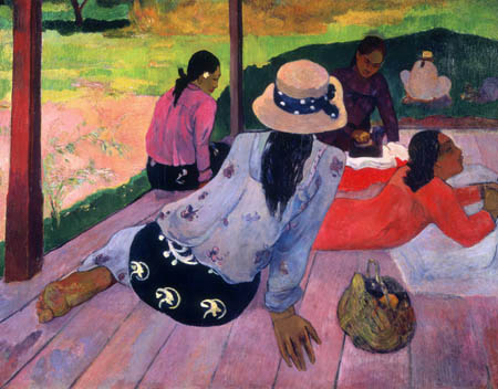 Paul Gauguin - Siesta