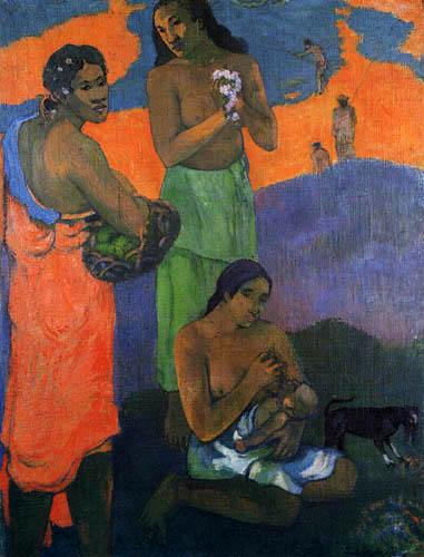 Paul Gauguin - Frauen am Ufer des Meeres