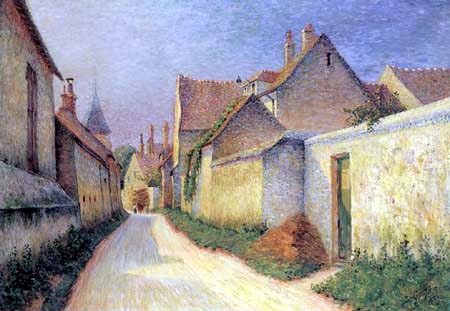 Léo Gausson - Street in Thorigny, Lagny-sur-Marne