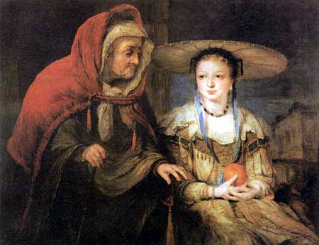 Aert (Arent) de Gelder - Vertumnus and Pomona