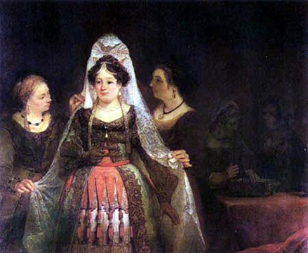 Aert (Arent) de Gelder - The Jew bride