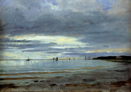 Jacob Gensler - Strand bei Blankenese