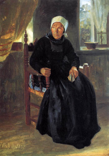 Jacob Gensler - A woman from Blankenese