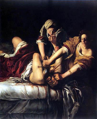 Artemisia Gentileschi - Judit et Holopherne