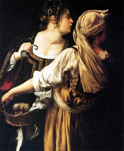 Artemisia Gentileschi - Judit y su sirvienta