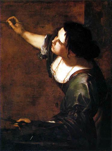 Artemisia Gentileschi - Selbstporträt