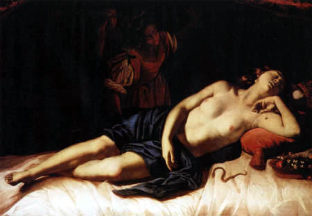 Artemisia Gentileschi - Cleopatra