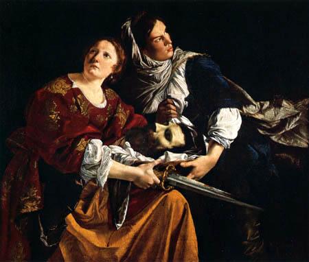 Orazio Gentileschi - Judith mit dem Haupt des Holofernes