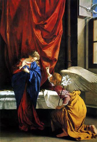 Orazio Gentileschi - Die Verkündigung