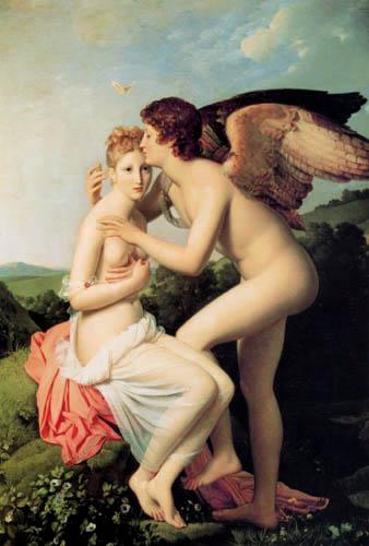 Francois Gérard - Amor und Psyche
