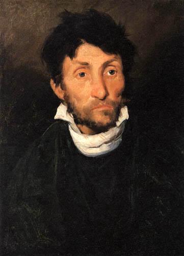 Théodore Géricault - Bildnis eines Geisteskranken