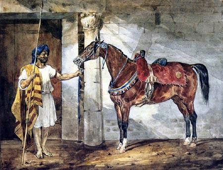 Théodore Géricault - Ein Araber