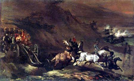 Théodore Géricault - Der Artilleriezug