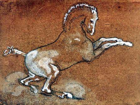 Théodore Géricault - Study of a Horse