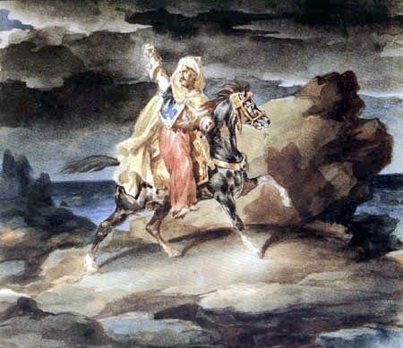 Théodore Géricault - Le Giaour