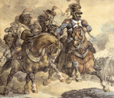 Théodore Géricault - Wechselne Artillerieposition