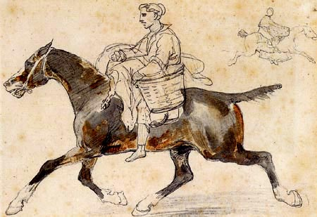 Théodore Géricault - Englischer Metzger zu Pferde