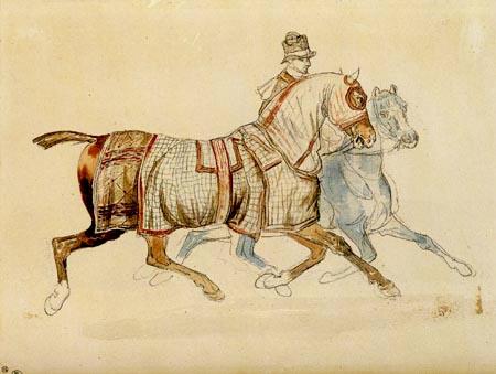 Théodore Géricault - Der Spazierritt