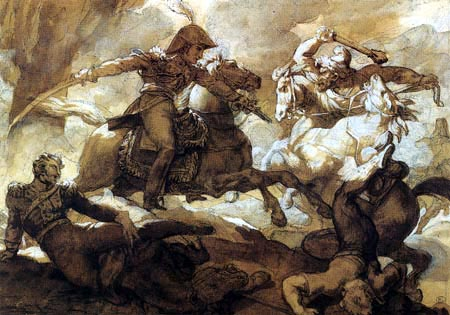 Théodore Géricault - In the Russian army