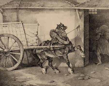 Théodore Géricault - Das Pferd des Gipsers