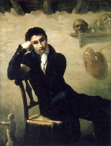 Théodore Géricault - Young Artist in his Studio