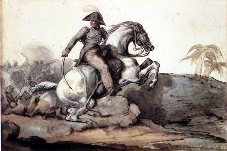 Théodore Géricault - Oberst Bro in Santo Domingo