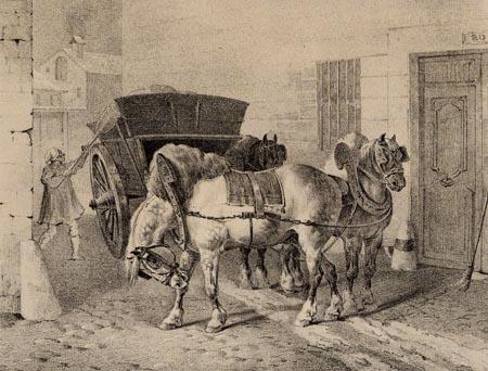 Théodore Géricault - Müllabfuhr