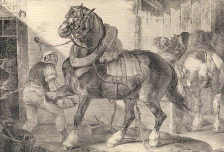 Théodore Géricault - Der französische Hufschmied